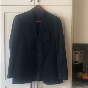 Men's Navy tweed sport coat